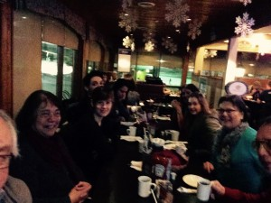 Dinner with Language Workers from the Education Directorate